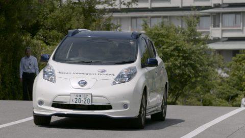 Autonomous car, Nissan