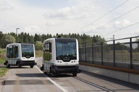 Driverless buses, Citymobil2