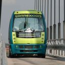 Self-driving bus, Connexxion, Kralingse Zoom in Rotterdam