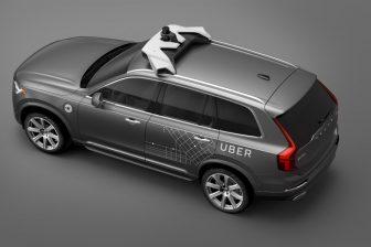 Volvo, Uber, autonomous car