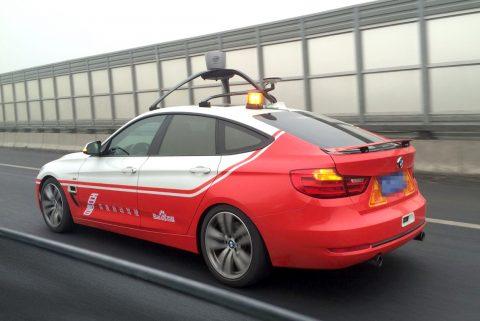 Baidu, autonomous car